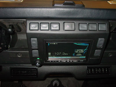 Land Rover Owner View Topic Defender 90 Td5 Stereo Fitting