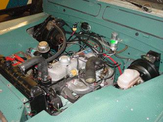 ho engine wiring series iia 88 upgraded this image shows a nice overview of that nearly completed engine bay