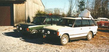 LWB Air Range Rovers