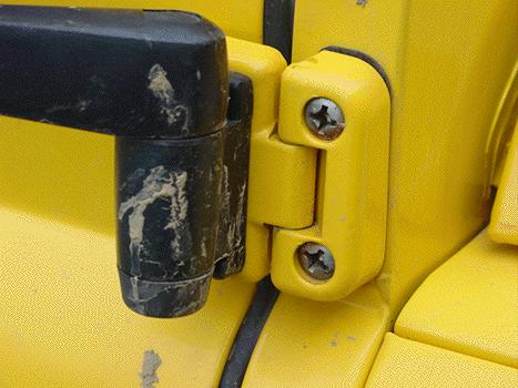 Defender Door Hinge Upgrade