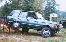 Kick Butt Range Rover - Range rover stock